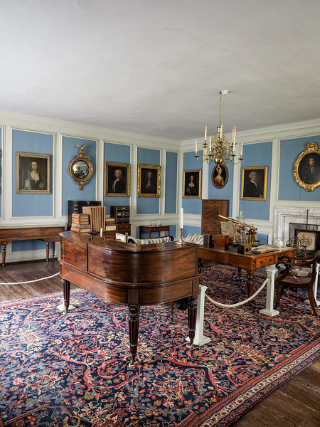 William Henry Fox Talbots working and hobbies room.