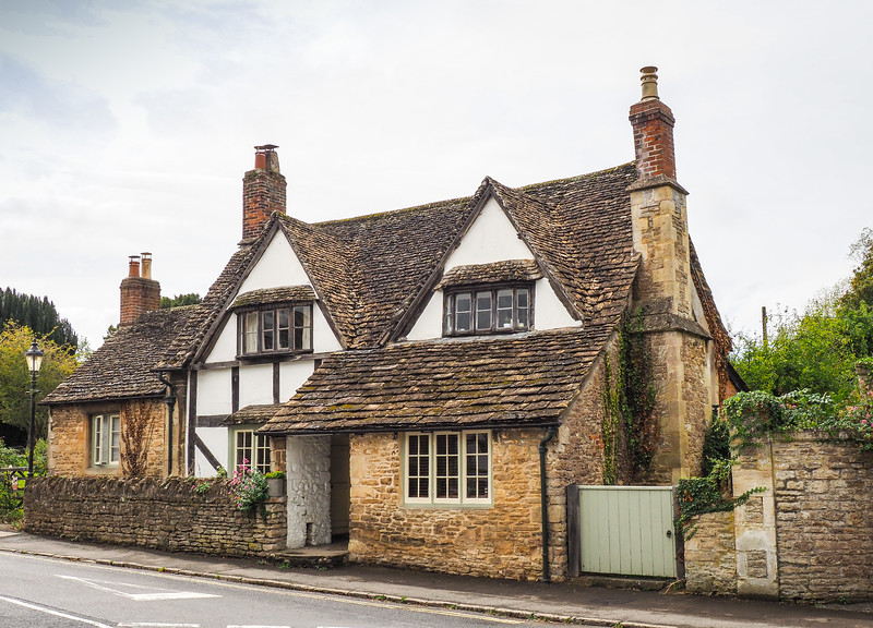 Lacock Village.