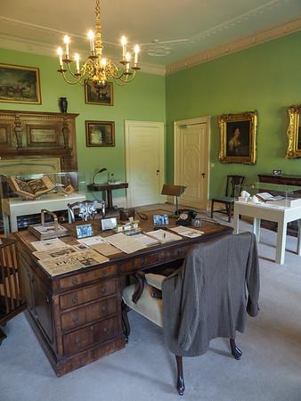 The office desk of Philip Henry Kerr