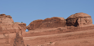 Arch near Delicate Arch, Arches National Park. Utah.
