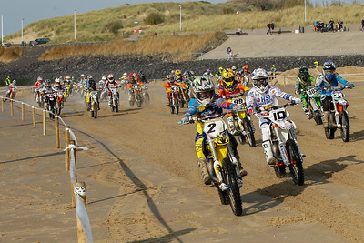 Start 85cc with Karssemakers, Dankers, Goudberg, Elzinga and Boegh Damm in front