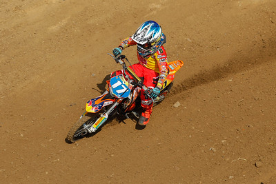 Everts finishes 3rd behind Jondell