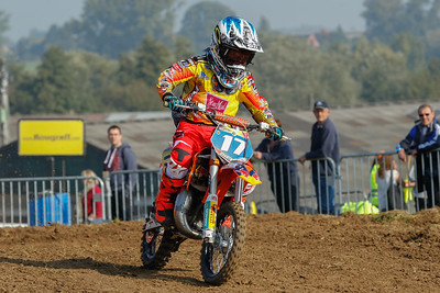 Liam Everts is 4th for Belgium