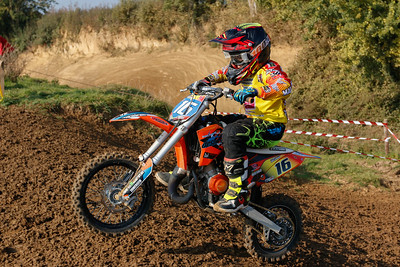 Destercq rode a strong race from 27th to 13th place