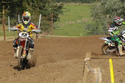 Van De Voorde profits from a crash from Coffey to take 18th