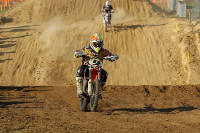 Van De Voorde begins his race from the back
