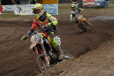 Van De Voorde is 4th, Emilio Vannieuwenhuize 5th