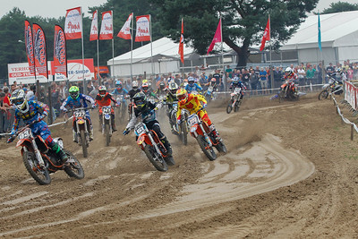 Start 1st race Beloften-Nationalen 125cc