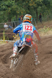 Joni Coeboy Coemans is 2rd in the Nationalen MX2 overall