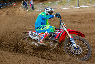 Meelberghs is 2nd and 7th, enough for 2nd in the MX1/3 Class