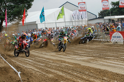 Start 1st race Nationals MX1/3