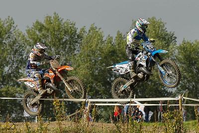 Conijn tries until the end to catch Agard-Michelsen