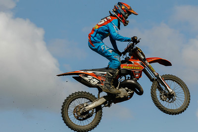 Bergevoet finishes 8th in the moto and 7th overall