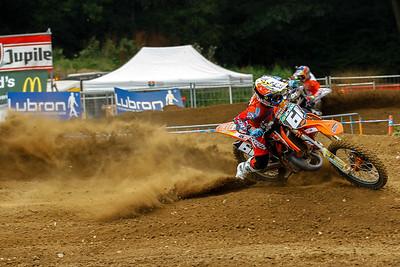 Prado kicking up some dust