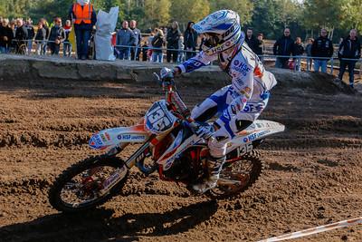Van Kraaij rides a strong race