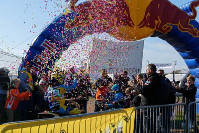 Elzinga is the 2015 Open Dutch Champion 85cc