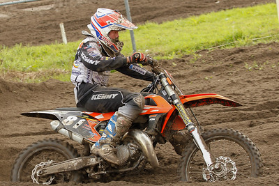 Raf Meuwissen finishes 14th in his first 125cc moto
