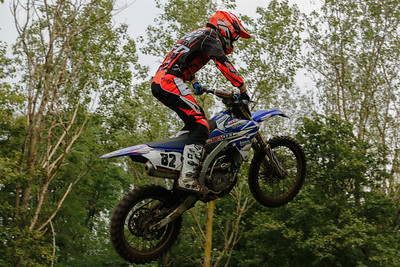 Kevin Fors on the MX1 bike