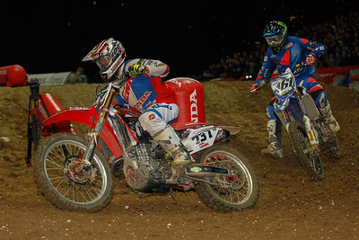 Teillet and Febvre in the back