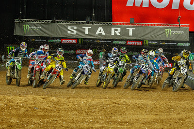 Start of the Final SX1 on Saturday