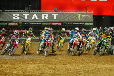 Start of the 2nd SX2 Final on Saturday