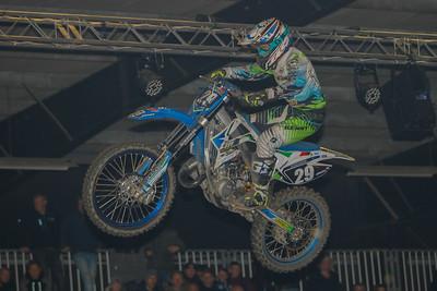 Sander Agard-Michelsen battles for the podium