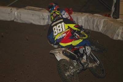 Larranaga crashed but comes back to fifth behind Nijenhuis