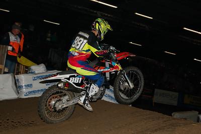 Larranaga with his FMX4EVER bike