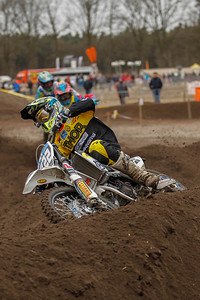 Haarup, certainly one of the contenders for the title in the European Championship 125cc