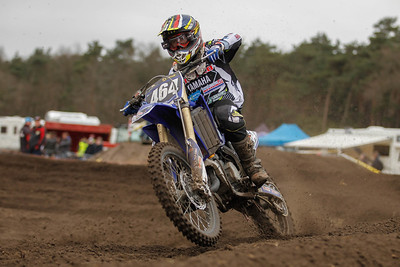 Hakansson finishes 3rd in the heat and 3rd on the Nationals 125cc podium