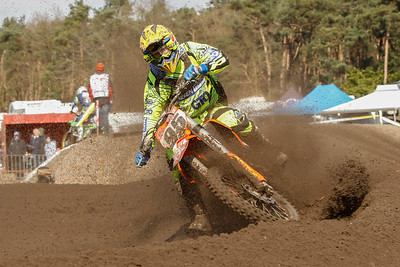 Cedric Grobben is the best rider in the MX2 class