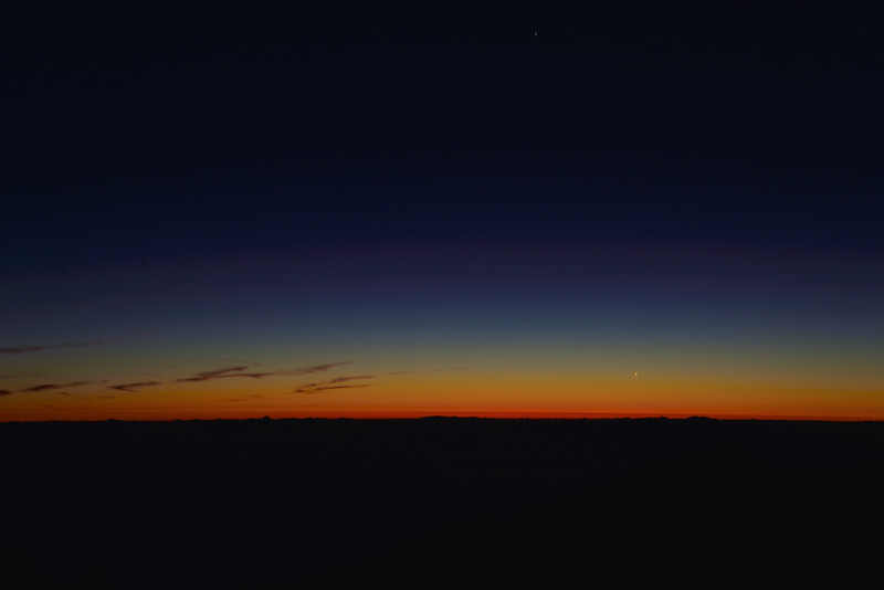 Sunrise, Haleakala Crater