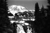 Mt Rainier & Top of Myrtle Falls