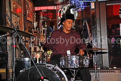 drummer David Kimbrough Jr duo