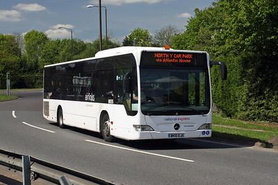 8655-BK10 EJX at Gatwick Airport
