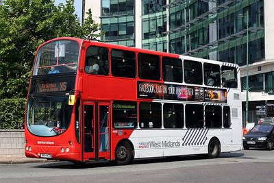 4686-BX54 XTD in Birmingham City Centre