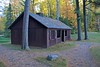 This is the shelter in the picnic area at Lake Owen.