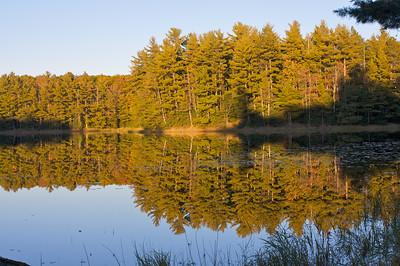 Reynard Lake in the Rainbow Lake Wilderness.