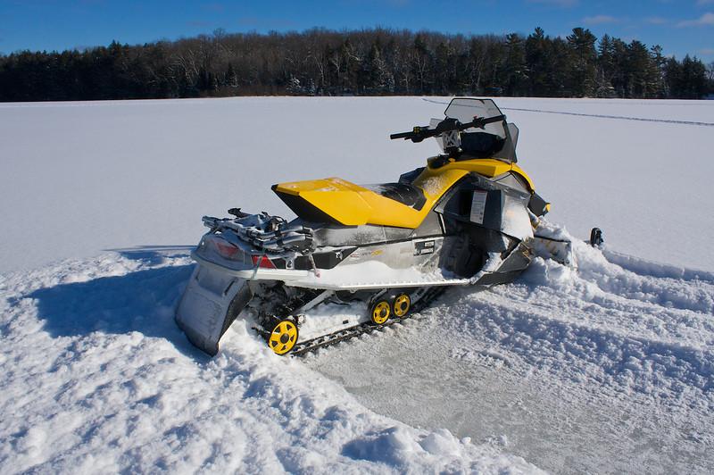 Namekagon Lake Ice