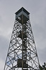 The Mountain Fire Tower. If you look close you will see a guy coming down the staircase.