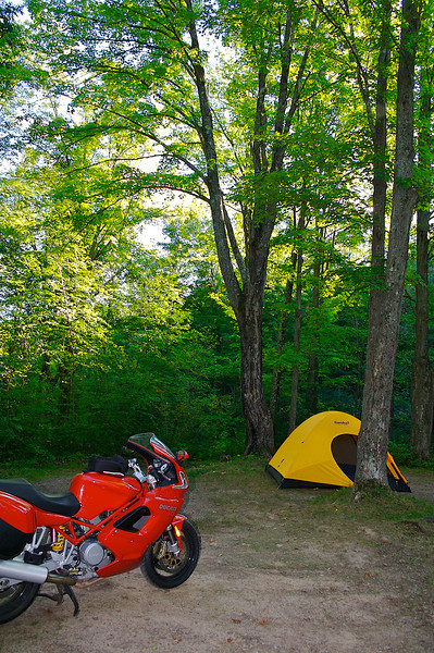 Campsite Spearhead Point