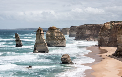 Apostles Viewed From The Great Ocean Road