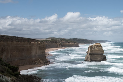 An Apostle Viewed From The Great Ocean Road