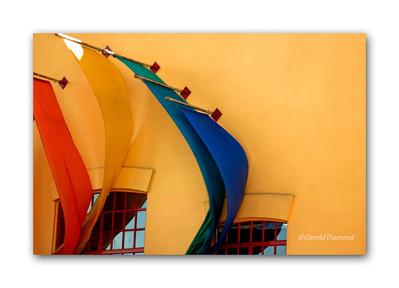 Granville Island Color - Vancouver, BC, Canada  ©Gerald Diamond All rights reserved