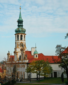 Church within grounds of Prague Castle Complex  ©Gerald Diamond All rights reserved