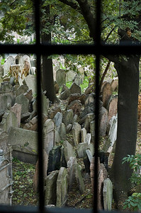 Ancient Jewish Cemetery of Prague  ©Gerald Diamond All rights reserved