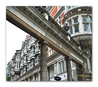 London Streets #5 - Sicilian Avenue  ©Gerald Diamond All rights reserved