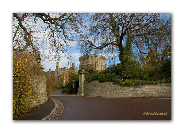 Windsor Castle Gate - Windsor, England  ©Gerald Diamond All rights reserved