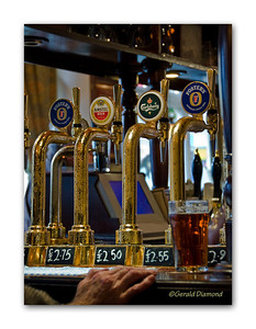 Choices - Windsor Pub, England  ©Gerald Diamond All Rights Reserved