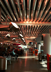 Airport lounge - Frankfurt, Germany  ©Gerald Diamond All rights reserved